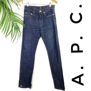 A.P.C. New Standard Raw Jeans Selvage 27 Classique